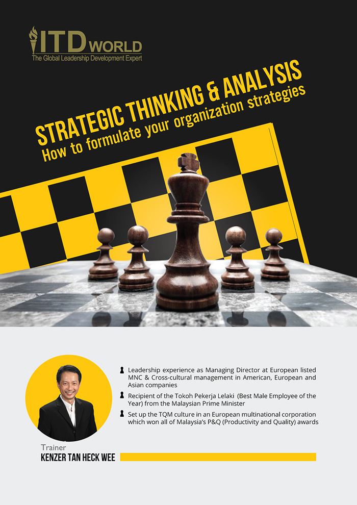 Strategic Thinking & Analysis