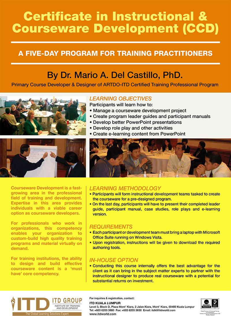 ITD WORLD - Institute of Training and Development | Professional ...