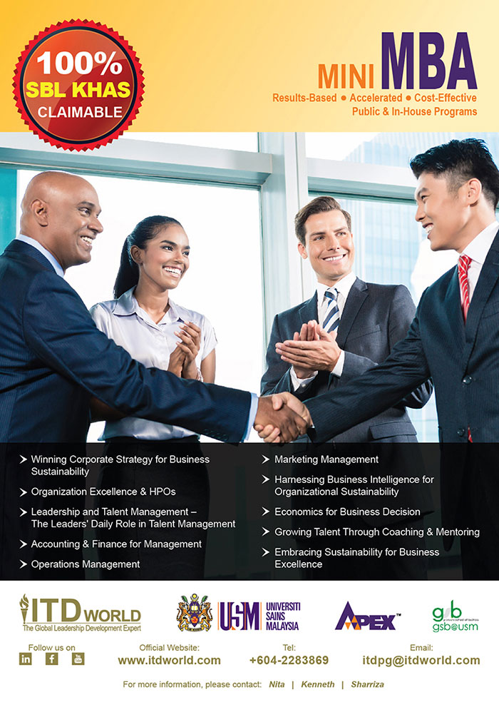 Mini MBA Brochure