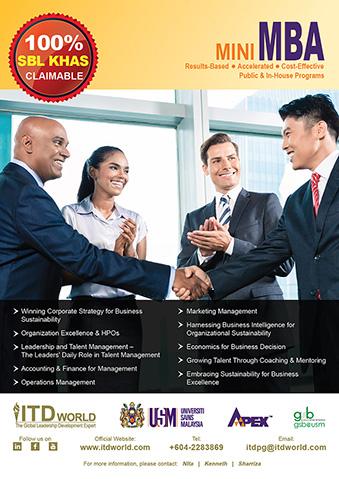 Mini MBA Poster